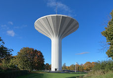 Water tower Svampen in Orebro, Sweden. Water tower Svampen (The Fungus) in the district Norr in Orebro, Sweden royalty free stock photos
