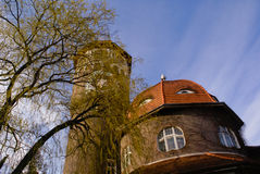 The Water Tower in Svetlogorsk Royalty Free Stock Photos