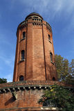 Water tower in toulouse Royalty Free Stock Images