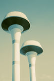 Water tower vintage color tone. Stock Images
