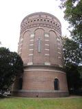 Water Tower 1893, Hilversum, Netherlands. Water Tower at Hilversum, Netherlands, Europe. Build in 1893. Design by Compagnie Générale des Conduites d Eau, Liege Royalty Free Stock Photos