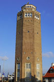 Water tower Zandvoort Holland Royalty Free Stock Photo