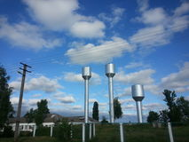 Water towers Stock Photography