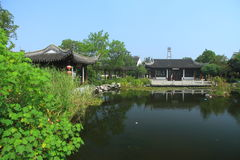 Water town of Luzhi, China Suzhou traditional garden Royalty Free Stock Image