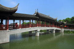 Water town of Luzhi, China Suzhou traditional garden royalty free stock photos