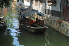 Water town of Luzhi, suzhou China royalty free stock photos