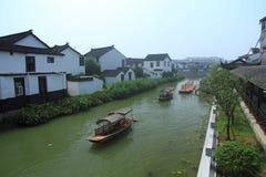Water town of Luzhi, suzhou China Royalty Free Stock Photos