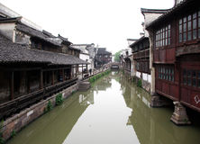 Water towns Wuzhen Royalty Free Stock Photography