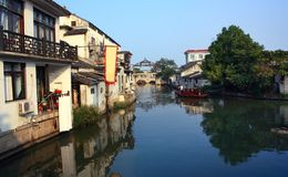 Water township -tongli china Stock Images