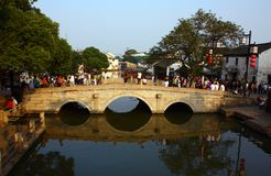 Water township -tongli landscape Stock Photo