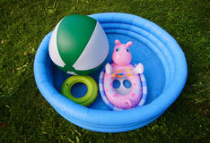 Water toys royalty free stock photos