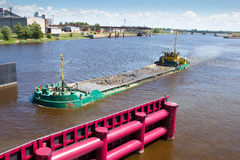 Water transport, Royalty Free Stock Photo