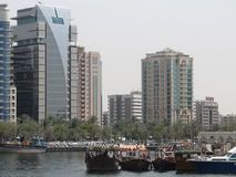 Water transport Dubai Royalty Free Stock Images