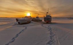water transport. ships waiting navigation Stock Photography
