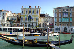 Water transport,Venice Stock Image