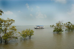 Water Transportation in India Royalty Free Stock Image