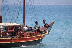 Water Transportation, Sailing Ship, Boat, Tall Ship stock photo
