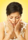 Water treatment royalty free stock photos