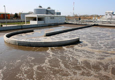 Water treatment royalty free stock images