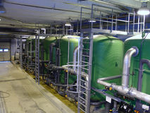 Water treatment Stock Images