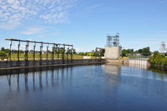 Water treatment facilities Stock Photos