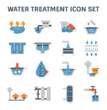 Water treatment icon Stock Images