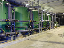 Water treatment pipes