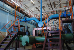 Water treatment plant Stock Image
