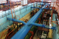 Water treatment plant Royalty Free Stock Photos