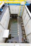 Water treatment plant. Rainwater treatment plant (RWTP). Environmentally friendly smelter Stock Photo