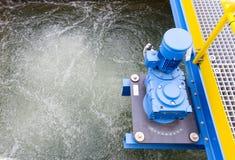 Water treatment plant. Rainwater treatment plant (RWTP). Environmentally friendly smelter Royalty Free Stock Photo