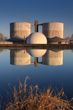 Water treatment plant Royalty Free Stock Photography