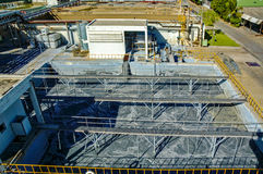 Water treatment plant Stock Images