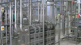 Water Treatment Plant. Water purification system equipment.