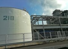 Water treatment plant Stock Photos