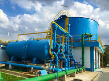 Water Treatment Plants Royalty Free Stock Images