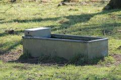 Free Water Trough. Stock Image - 91857001
