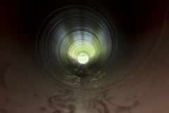 Water tube from inside Royalty Free Stock Images