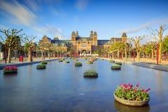 Water tulips Rijksmuseum Stock Photography