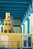 Water-turbine generator set. In a hydroelectric station Stock Images