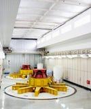 Water turbine generators Stock Photo