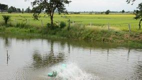 Water turbine Machine stock video
