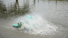 Water turbine Machine stock video footage