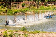 Water turbine wheel Stock Images