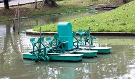Water turbine working in pool Stock Photography