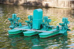 Water turbines Stock Image