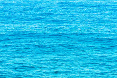 Water of the Tyrrhenian Sea Royalty Free Stock Photos