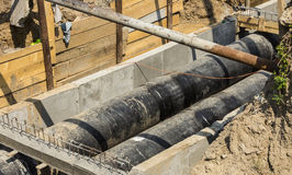 Water Underground Pipes royalty free stock images