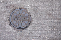Water Utility Cover Stock Photos