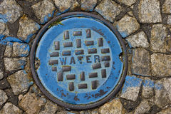Water Utility Cover Royalty Free Stock Photo